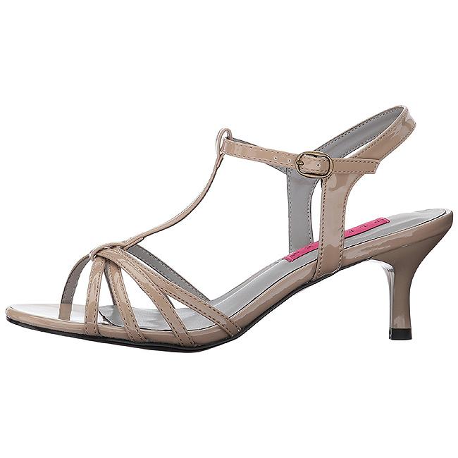 KITTEN-06 sandales grande taille femme beige 42 - 43